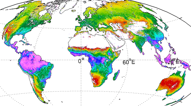 sample thumbnail of evaportranspiration image