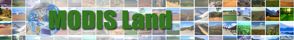 MODIS Land Team banner